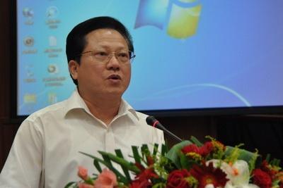 中共广东省委常委,广州市委书记张广宁致辞.张启川 摄