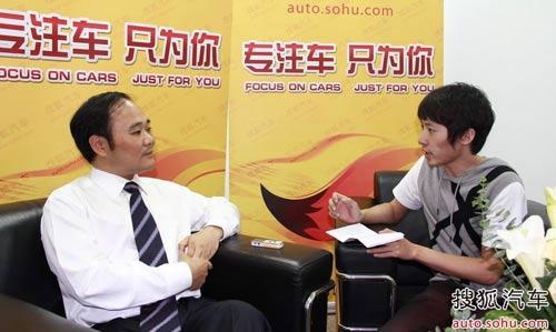李书福接受专访