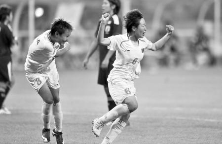 中国大学生女足为中国球迷带来久违的欢乐