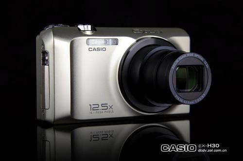 图为:卡西欧数码相机H30