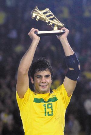 巴西赢得U20世界杯冠军 巴西前锋独揽金球金