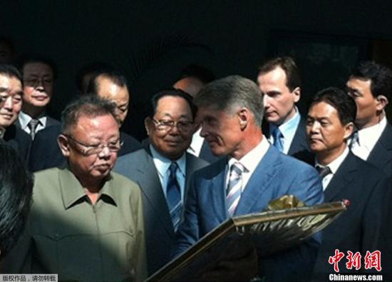 韩媒称李明博积极评价金正日访问俄罗斯