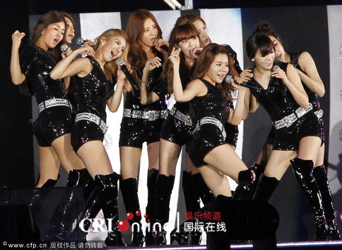 少女时代将参加下月庆州韩流梦想演唱会 羽翼
