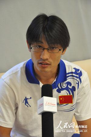 胡凯接受人民网采访