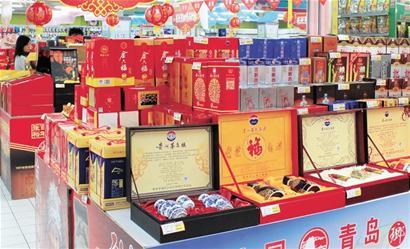 香港中路某商场白酒专柜导购员表示,预计中秋节前,飞天茅台还会再次