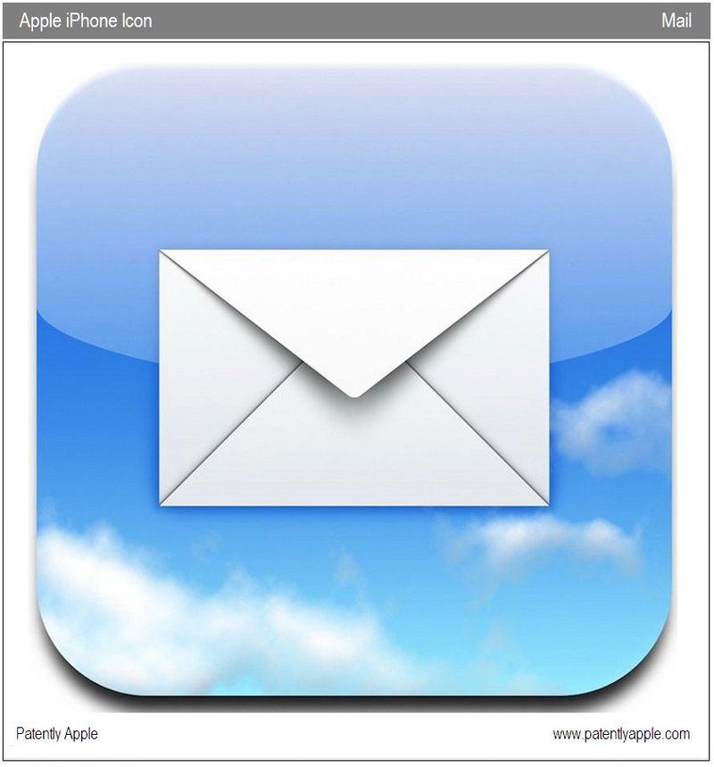 苹果申请mail 邮件程序图标作商标-搜狐滚动