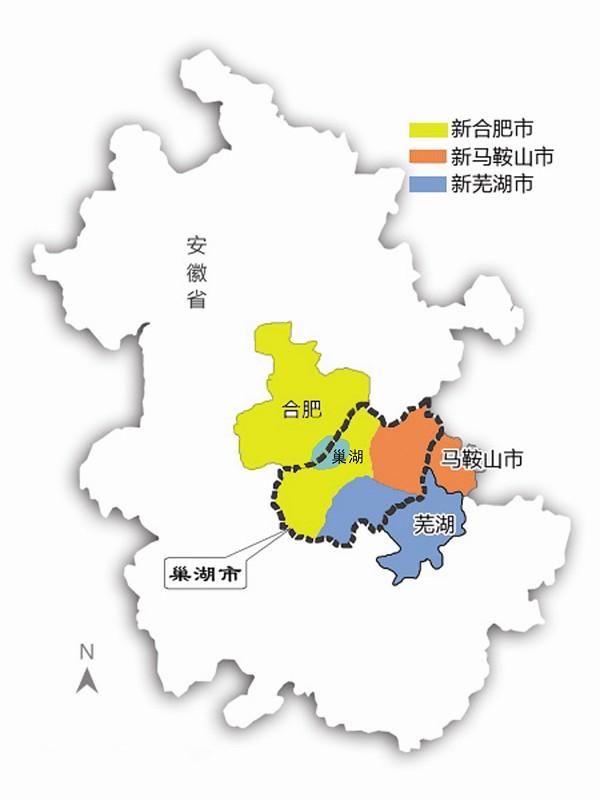 安徽省行政全图图片大全 安徽省行政区划图