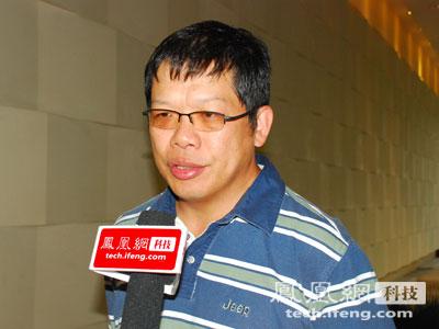 点击科技董事长兼总裁王志东凤凰网科技配图