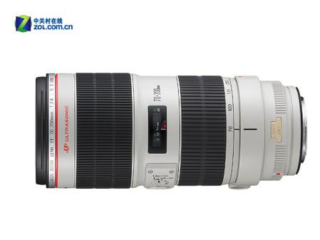 图为:佳能EF 70-200mm f/2.8L IS II USM镜头