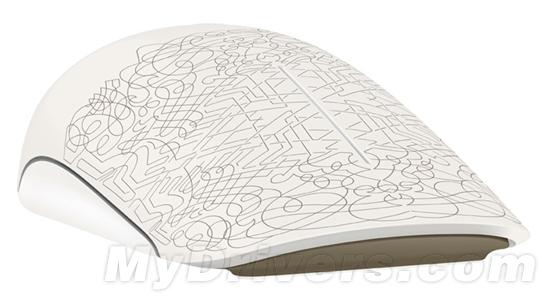 微软多点触控鼠标Touch Mouse艺术版发布