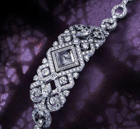 卡地亚手绘珠宝