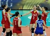 图文:中国女排2-3塞尔维亚 中国庆祝得分