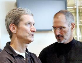 苹果董事会宣布CEO乔布斯辞职 COO库克接任