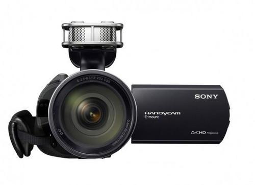 索尼正式发布可换头高清DV新品NEX-VG20