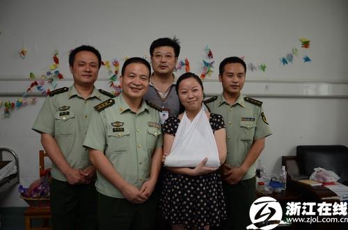 """""""最美妈妈""""吴菊萍受邀担任杭州消防志愿者宣传大使"""
