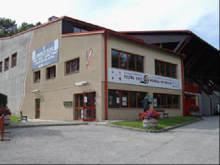 图为:意大利大男子金属世锦赛比赛场馆。