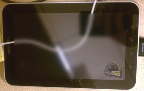 三星Galaxy Tab 7.7真机图泄露