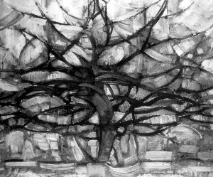 灰色的果实剧情_《灰色的树》 蒙德里安荷兰