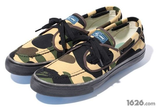 ??? ???/A Bathing Ape ??Sperry Top/Side Seamate ??????Ь????(???...