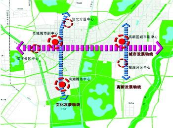 济宁北湖景区地图
