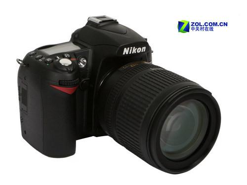 图为:尼康数码单反相机D90-逐渐跌破心理价位 尼康D90套机仅6630元