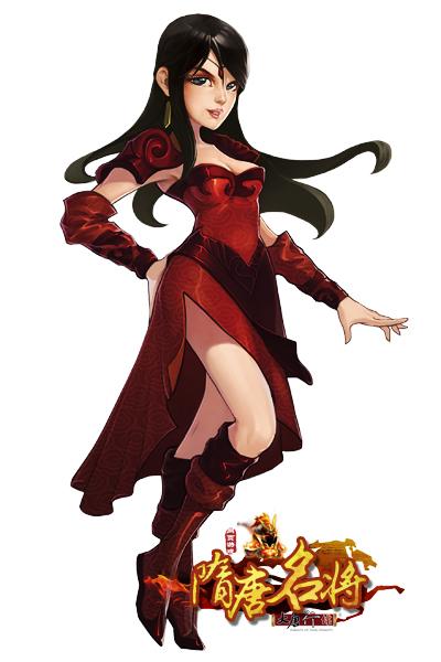 纯情罗曼史动漫 女生头像黑红色动漫人物图片素材未收录 红色底卡通图片