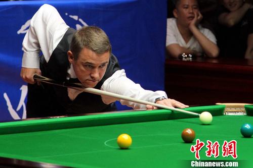 台球皇帝 亨得利等世界级高手南昌对决 秀球技