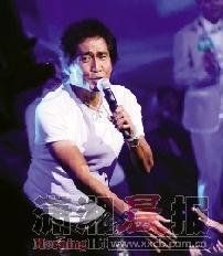 意外受伤后,齐秦将有数月不能登台表演。