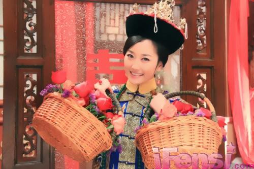 新《还珠》令妃受捧 刘晓晔误打误撞爱上表演