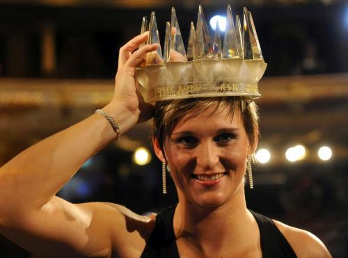 头戴王冠恰似女皇