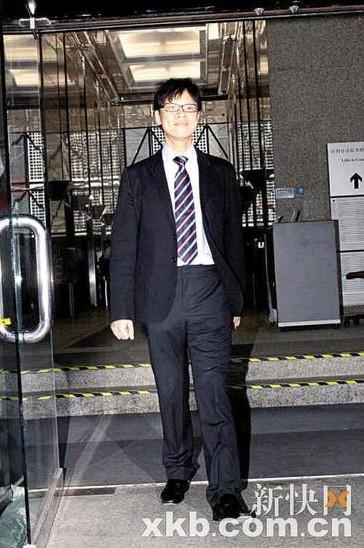 陈志云走出法庭