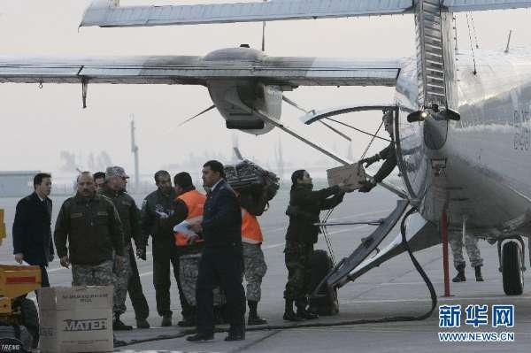 智利失事军用飞机首位遇难者遗体被找到(组图)