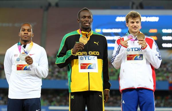 200米颁奖礼