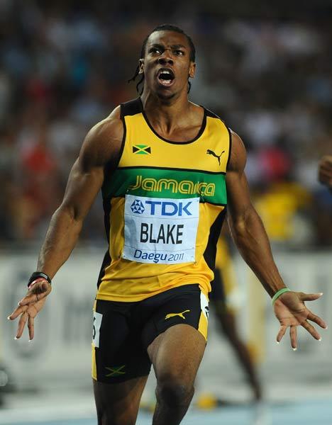 男子100米 布雷克(牙买加)
