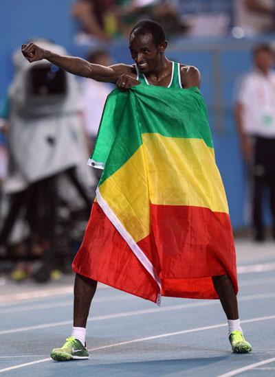 男子10000米:杰伊兰最后50米逆转法拉赫