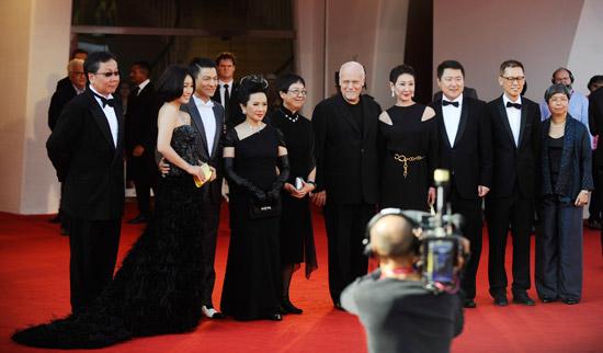 《桃姐》威尼斯举行首映惹哭外国媒体(点击查看高清组图)