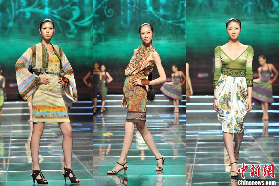 9月5日,第六届亚洲超级模特大赛总决赛在广西南宁举行,来自亚洲各国的