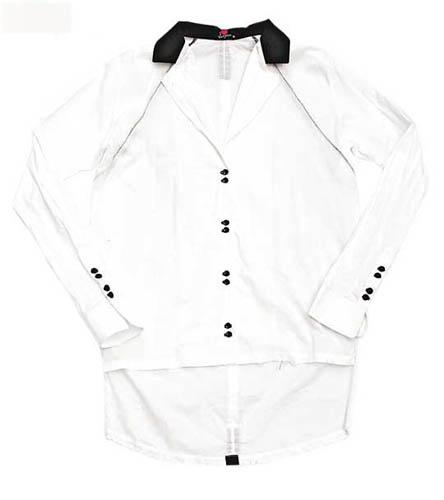 Something Else黑白色长恤衫