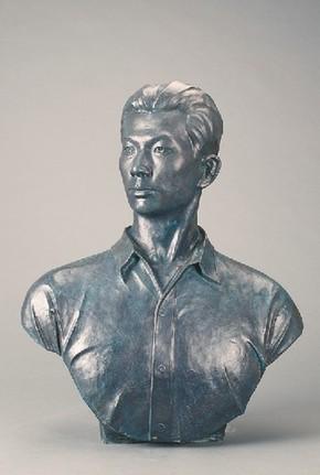 用心复制艺术灵韵 40件廖新学雕塑翻制品成功验收
