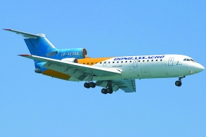与失事客机同机型的雅克-42中型客机。