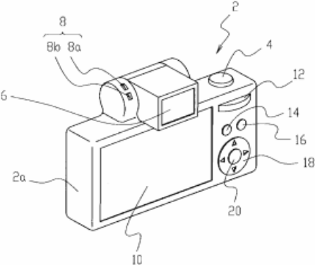 新镜头和转轴EVF 尼康微单的最新专利