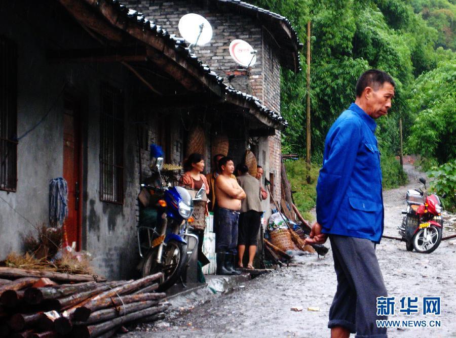 这是9月8日拍摄的四川省大竹县曾家沟煤矿办公楼。