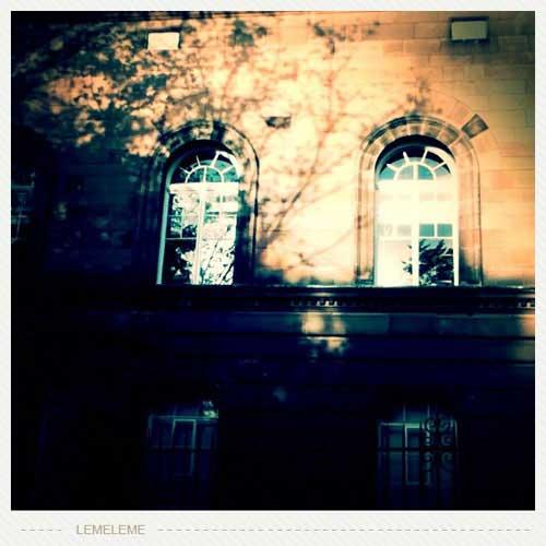 午后的爱丁堡大学
