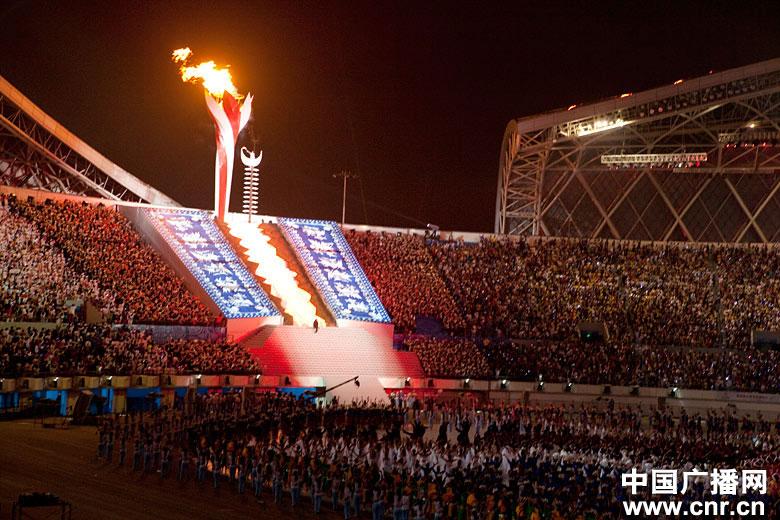 第九届全国少数民族传统体育运动会开幕式(组图)图片