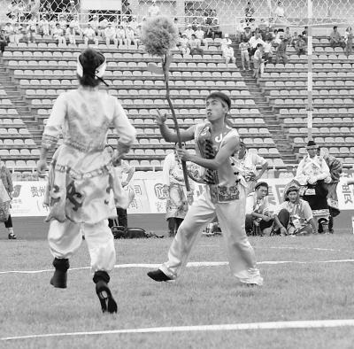 赫哲族 叉草球