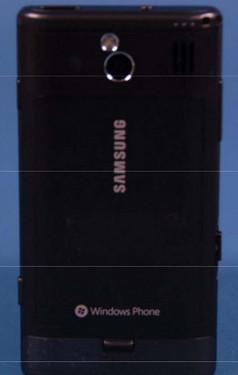 三星SGH-i708机身背面