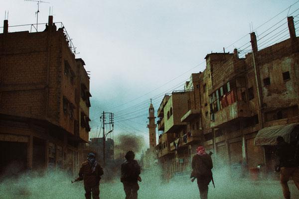 《逆战》中东拍摄剧照