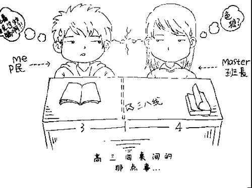 85后男生手绘漫画回忆青涩时光(组图)-搜狐滚动