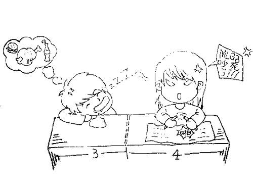 85后男生手绘漫画回忆青涩时光(组图)