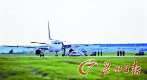 9月11日当天,623航班最终安全降落在机场。